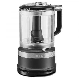 KitchenAid 5KFC0516BBM Mini Food Processor With Whisk – MATT BLACK