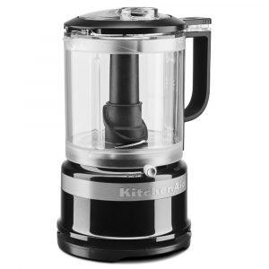 KitchenAid 5KFC0516BOB Mini Food Processor With Whisk – ONYX BLACK