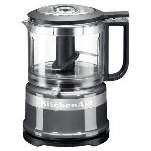 KitchenAid 5KFC3516BCU Mini Food Processor – CONTOUR SILVER