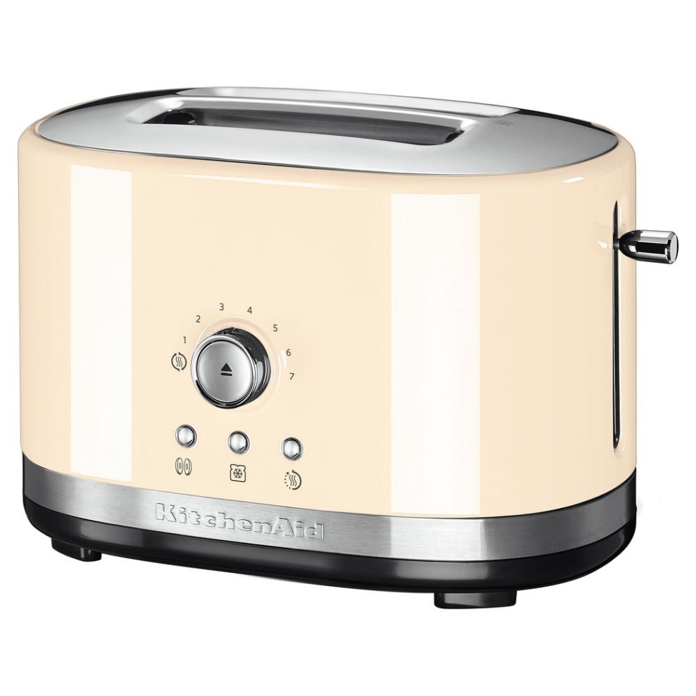 KitchenAid 5KMT2116BAC 2 Slice Manual Control Toaster - ALMOND CREAM