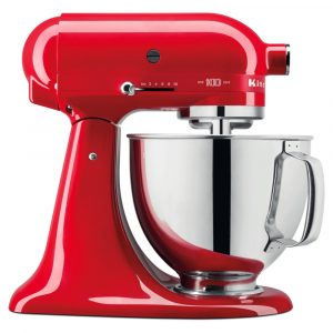 KitchenAid 5KSM180HBSD Artisan Stand Mixer 4.8 Litre – SIGNATURE RED