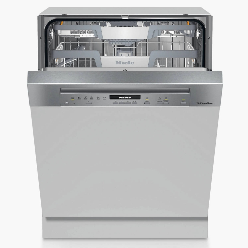 Miele G7100SCICLST 60cm Semi Integrated Dishwasher - STAINLESS STEEL