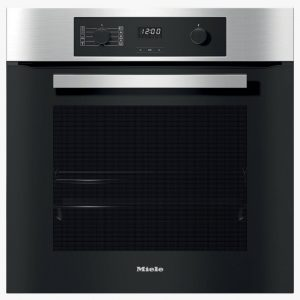Miele H2265-1BP Built In Pyrolytic Multifunction Single Oven – STAINLESS STEEL