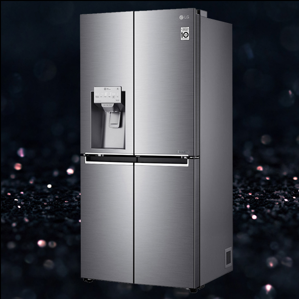 LG GMJ844PZKV French style fridge freezer