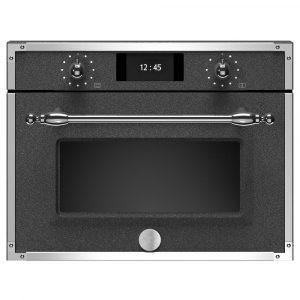 Bertazzoni F457HERMWTND Heritage Series Built In Combination Microwave – BLACK