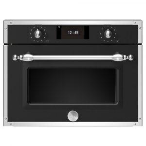 Bertazzoni F457HERMWTNE Heritage Series Built In Combination Microwave – BLACK