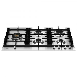 Bertazzoni P905LMODX 90cm Modern Series 5 Burner Gas Hob – STAINLESS STEEL