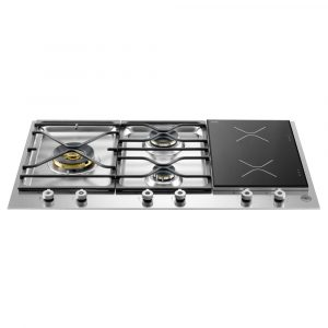 Bertazzoni PM363I0X 90cm Professional Mixed Gas And Induction Hob – STAINLESS STEEL