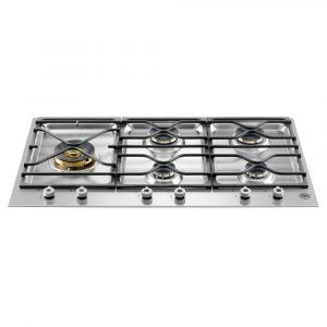 Bertazzoni PM365S0X 90cm Professional Series 5 Burner Gas Hob – STAINLESS STEEL