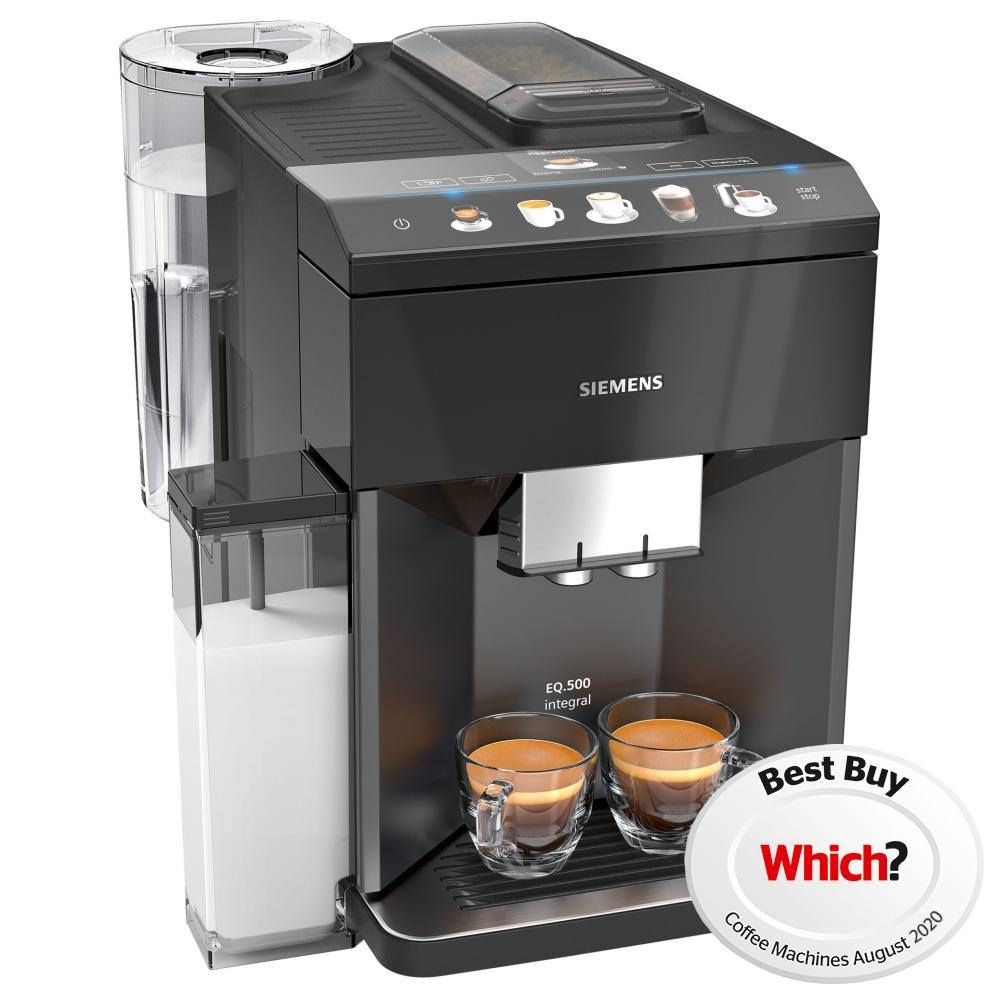 Siemens TQ505R09 EQ.500+ Freestanding Fully Automatic Coffee Machine - BLACK
