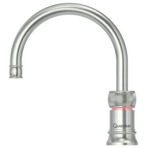 Quooker COMBI 2.2 CLASSIC NORDIC ROUND SS 2.2CNRRVS Combi Classic Nordic Round Boiling Water Tap – STAINLESS STEEL
