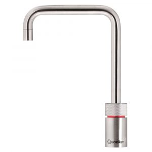 Quooker COMBI 2.2 NORDIC SQUARE SS 2.2NSRVS Combi Nordic Square Boiling Water Tap – STAINLESS STEEL