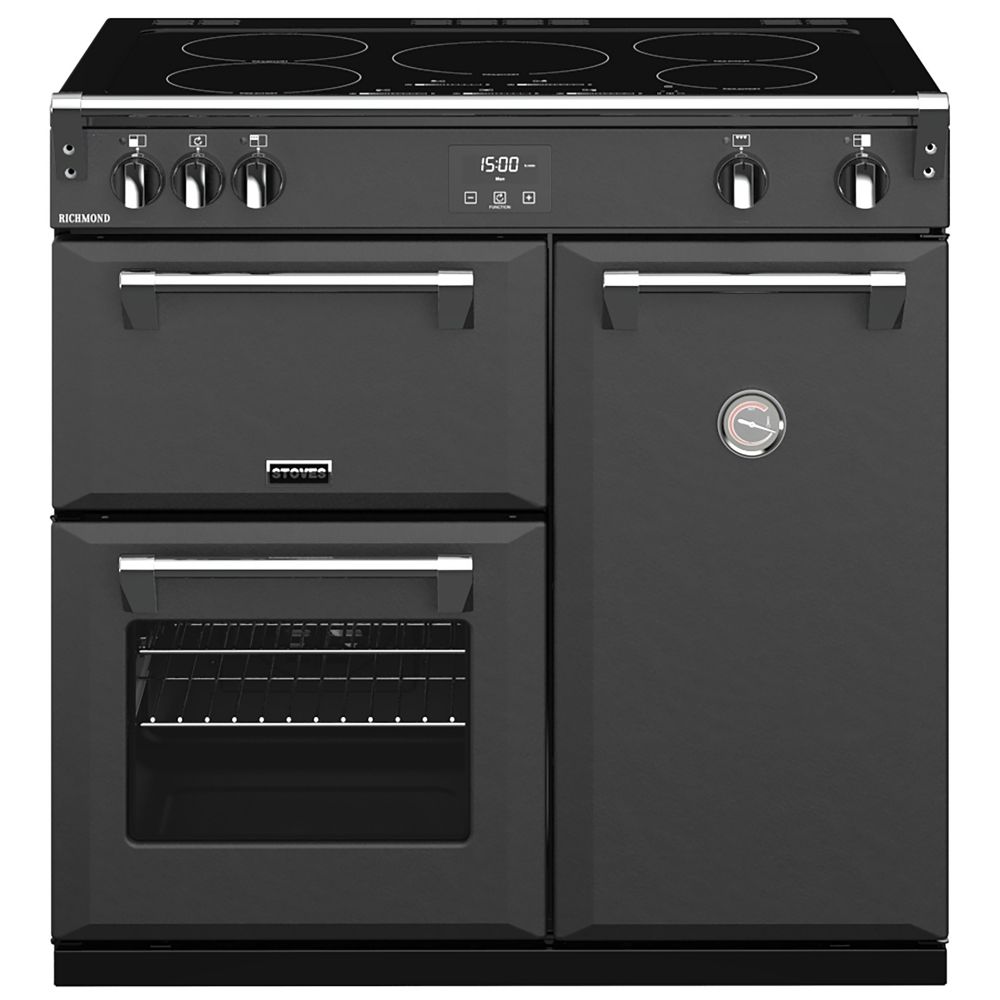 Stoves RICHMOND S900EIANT 10253 Richmond 90cm Induction Range Cooker - ANTHRACITE