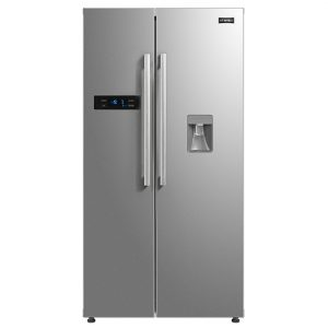 Stoves SXS909WTDSTA American Fridge Freezer With Water Dispenser Non Plumbed – STAINLESS STEEL