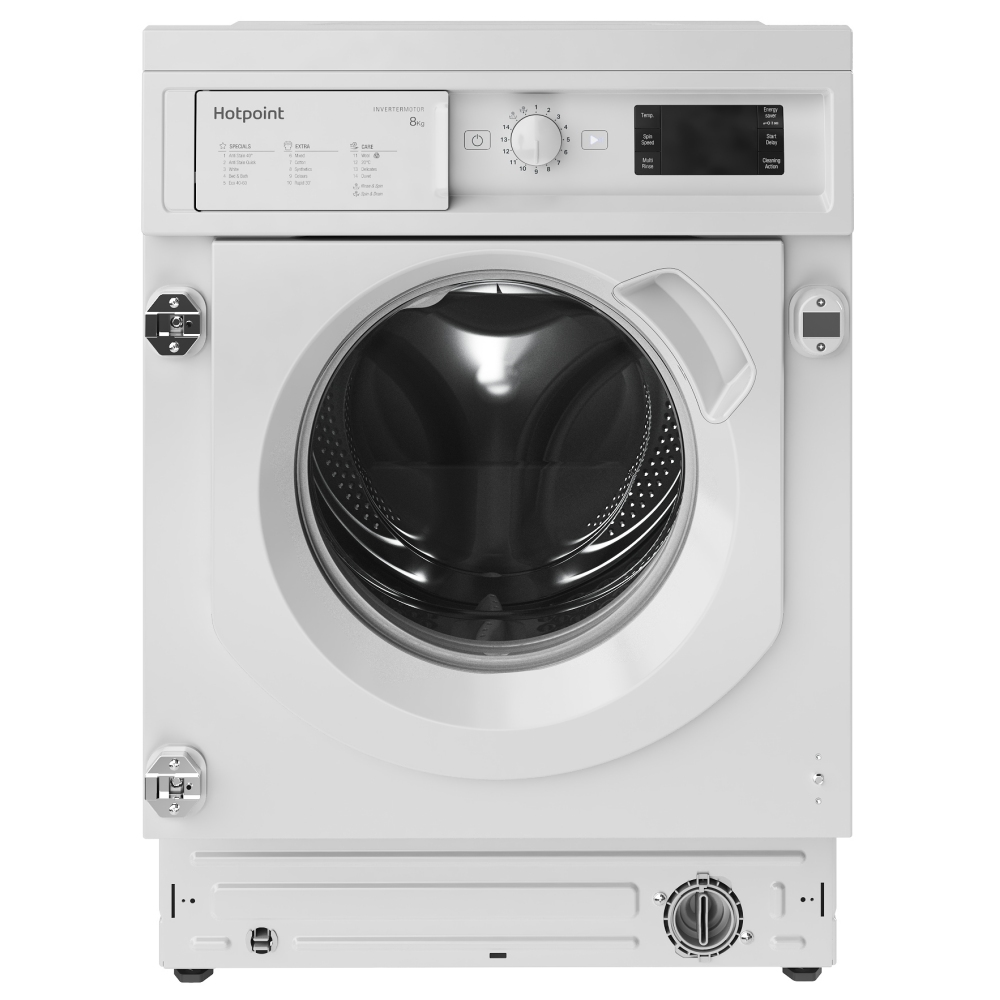 Hotpoint WMHG81484 8kg Fully Integrated Washing Machine