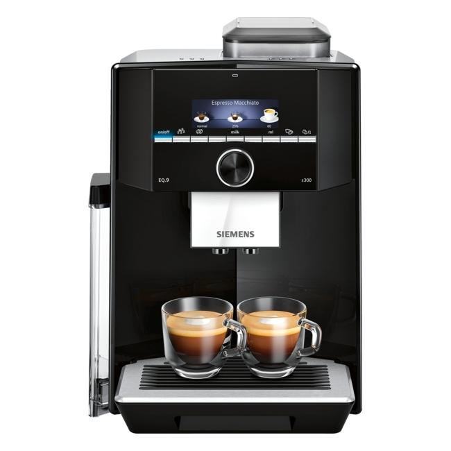 Siemens TI923309RW EQ.9 S300 Fully Automatic Freestanding Coffee Machine - BLACK