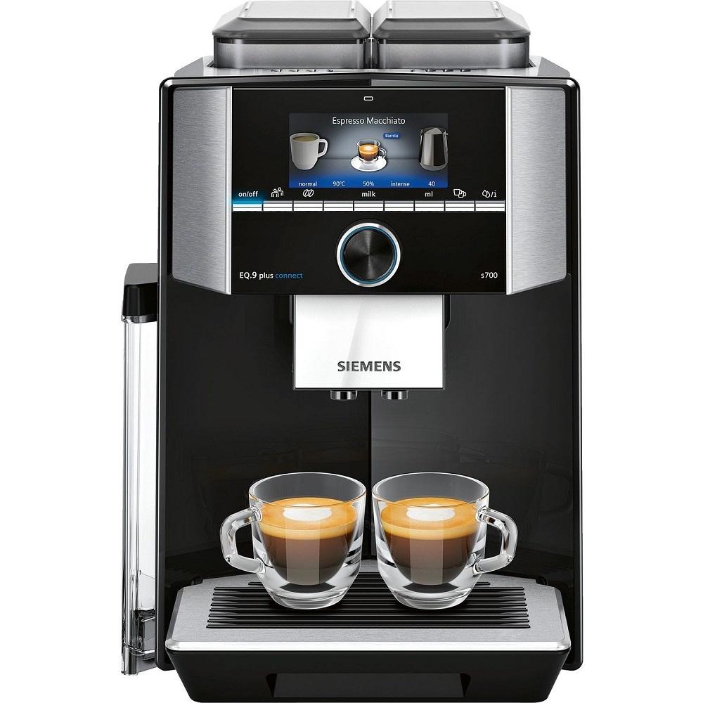 Siemens TI9573X9RW EQ.9 Freestanding Fully Automatic Coffee Machine - BLACK
