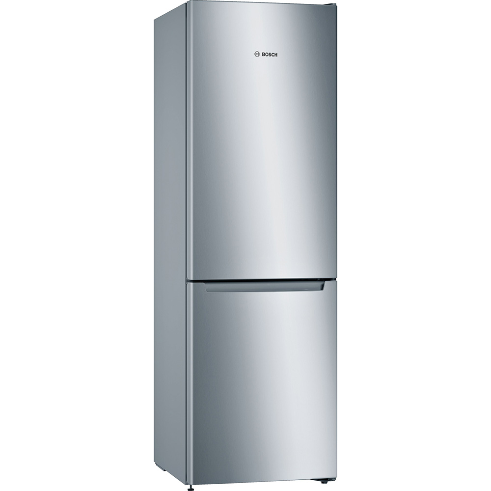 Bosch KGN33NLEAG 60cm Serie 2 Frost Free Fridge Freezer - SILVER
