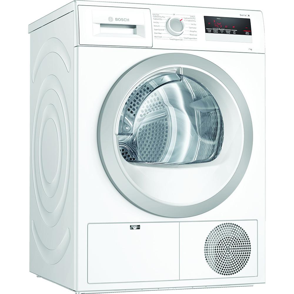 Bosch WTN85201GB 7kg Serie 4 Condenser Tumble Dryer - WHITE