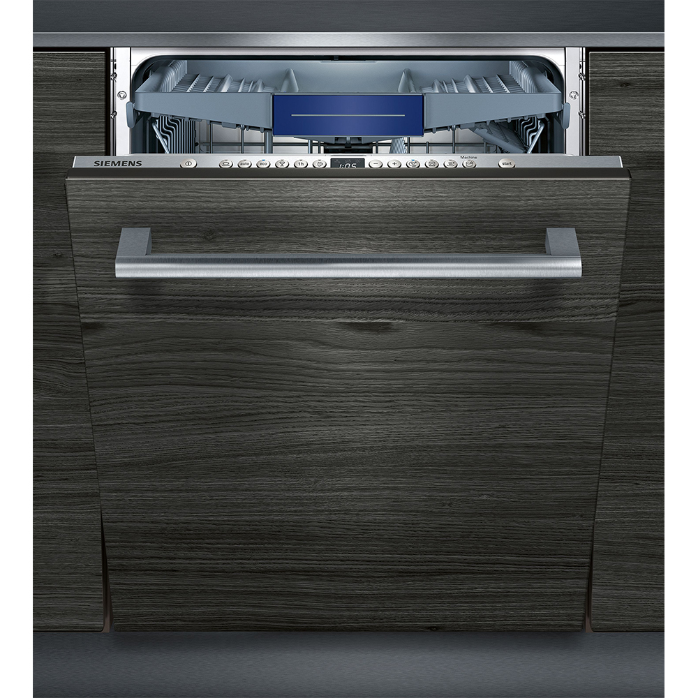 Siemens IQ-300 SX736X19NE Fully Integrated Standard Dishwasher - Stainless Steel Control Panel - A++ Rated
