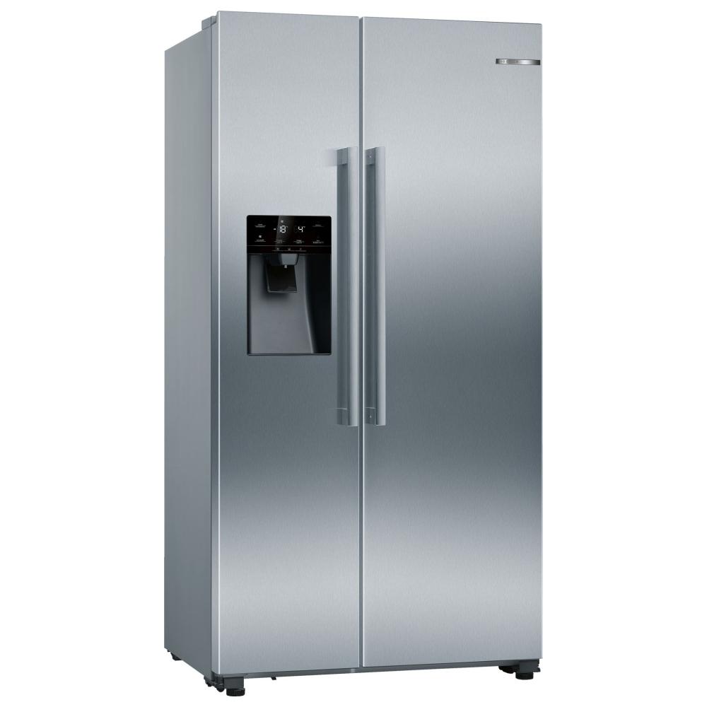 Bosch KAI93VIFPG American Style Fridge Freezer Ice & Water Non Plumbed - STAINLESS STEEL