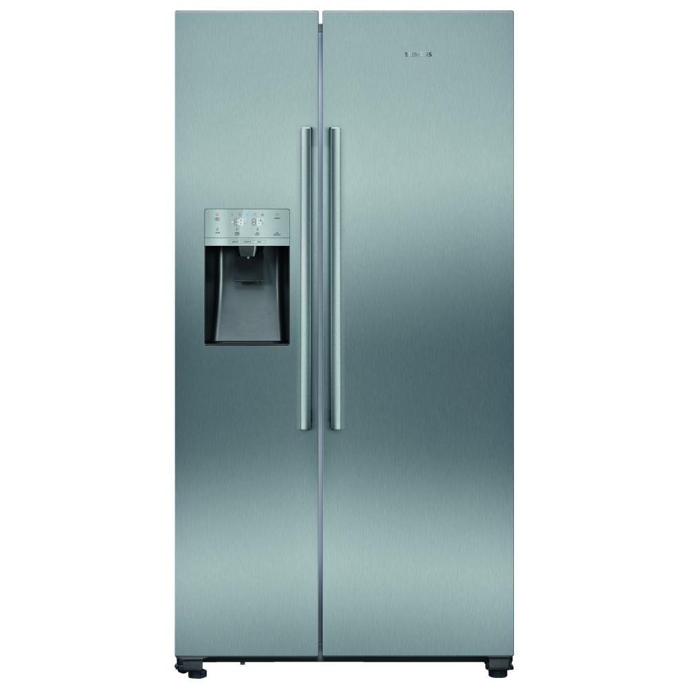 Siemens KA93DVIFPG IQ-500 American Fridge Freezer Ice & Water - STAINLESS STEEL