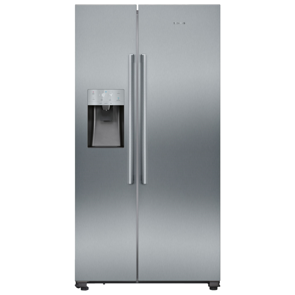 Siemens KA93IVIFPG IQ-500 American Fridge Freezer Ice & Water Non Plumbed - STAINLESS STEEL