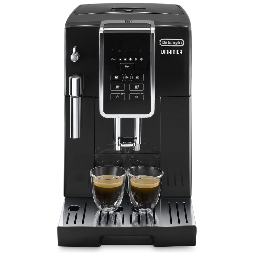 Delonghi ECAM350.15B Dinamica Bean to Cup Freestanding Coffee Machine - BLACK