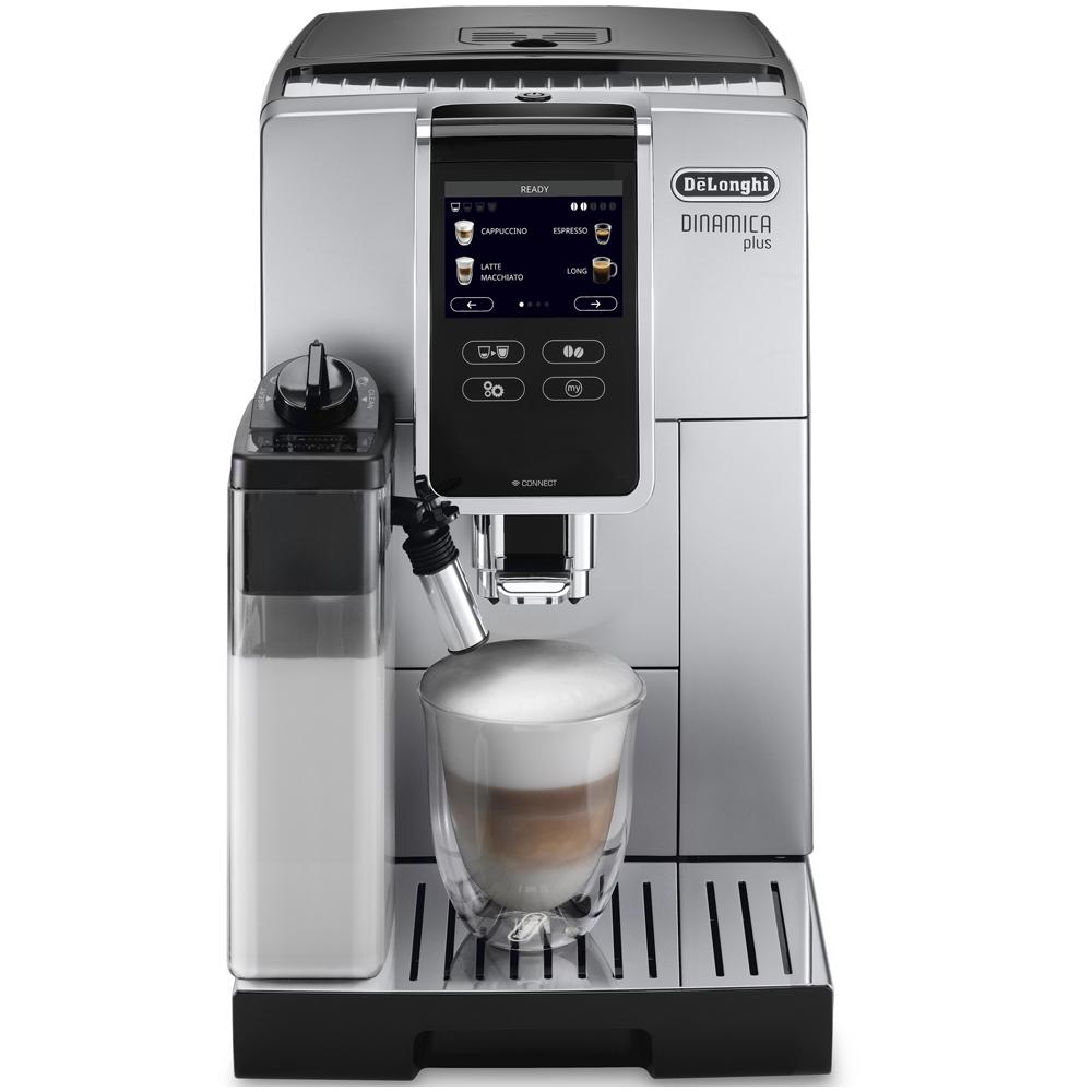 Delonghi ECAM370.85.SB Dinamica Plus Bean to Cup Freestanding Coffee Machine - SILVER