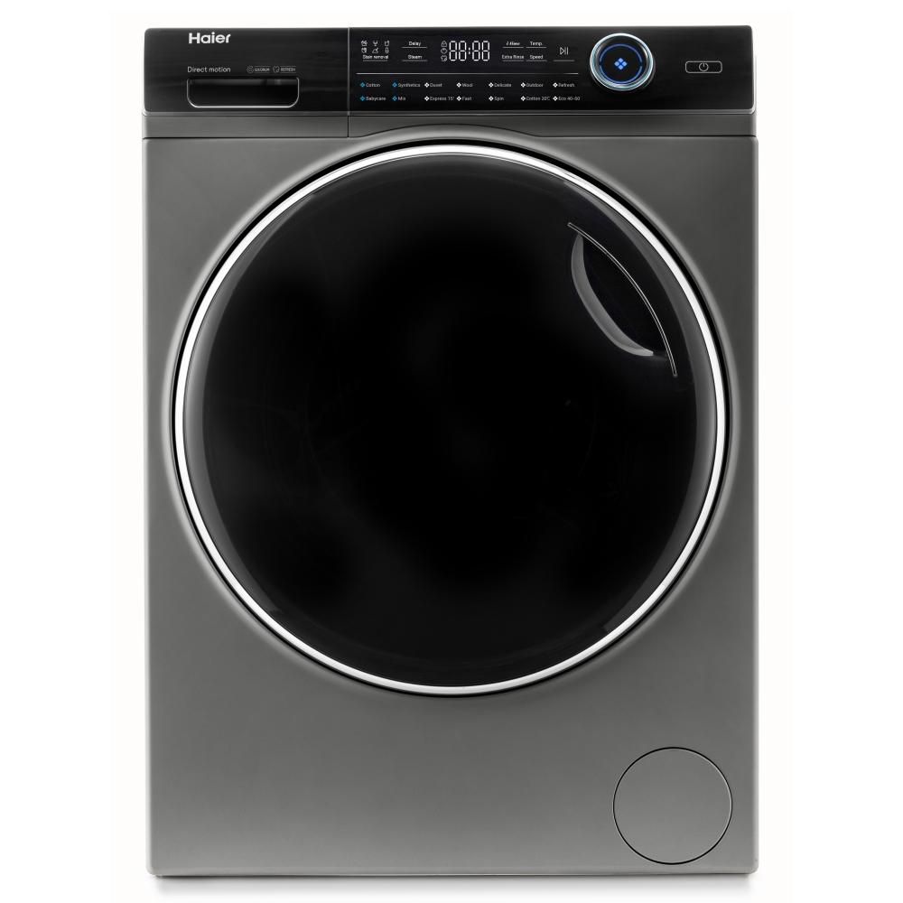 Haier HW80-B14979S 8kg I-Pro Series 7 Freestanding Washing Machine 1400rpm - GRAPHITE