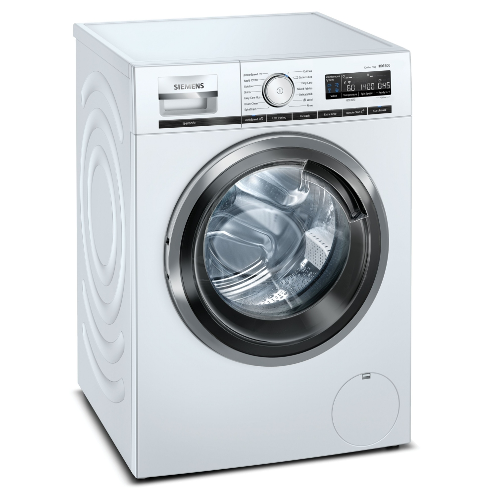 Siemens WM14VMH3GB 9kg IQ-500 Washing Machine 1400rpm - WHITE
