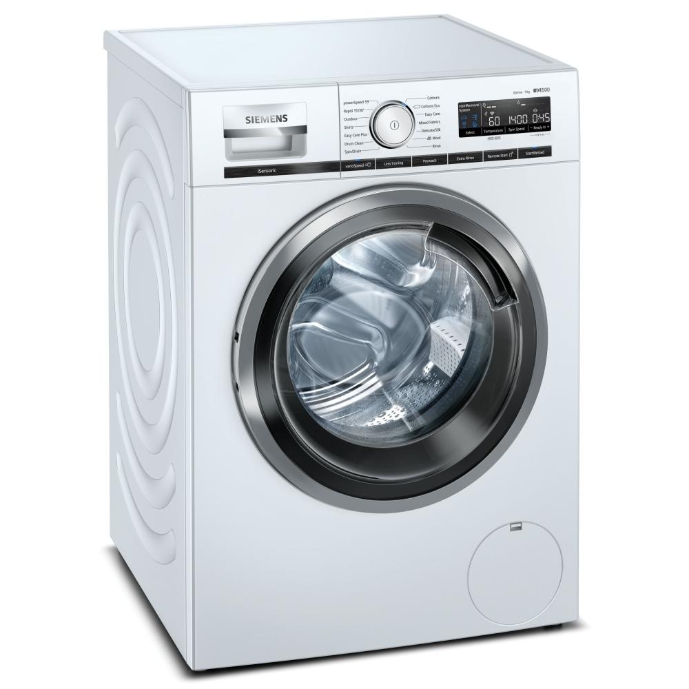 Siemens WM14VPH3GB-EX DISPLAY 9kg IQ-500 Steam Washing Machine 1400rpm - WHITE