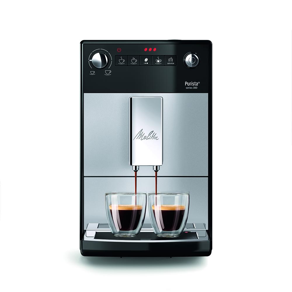 Melitta 6766604 Purista Bean To Cup Coffee Machine - SILVER