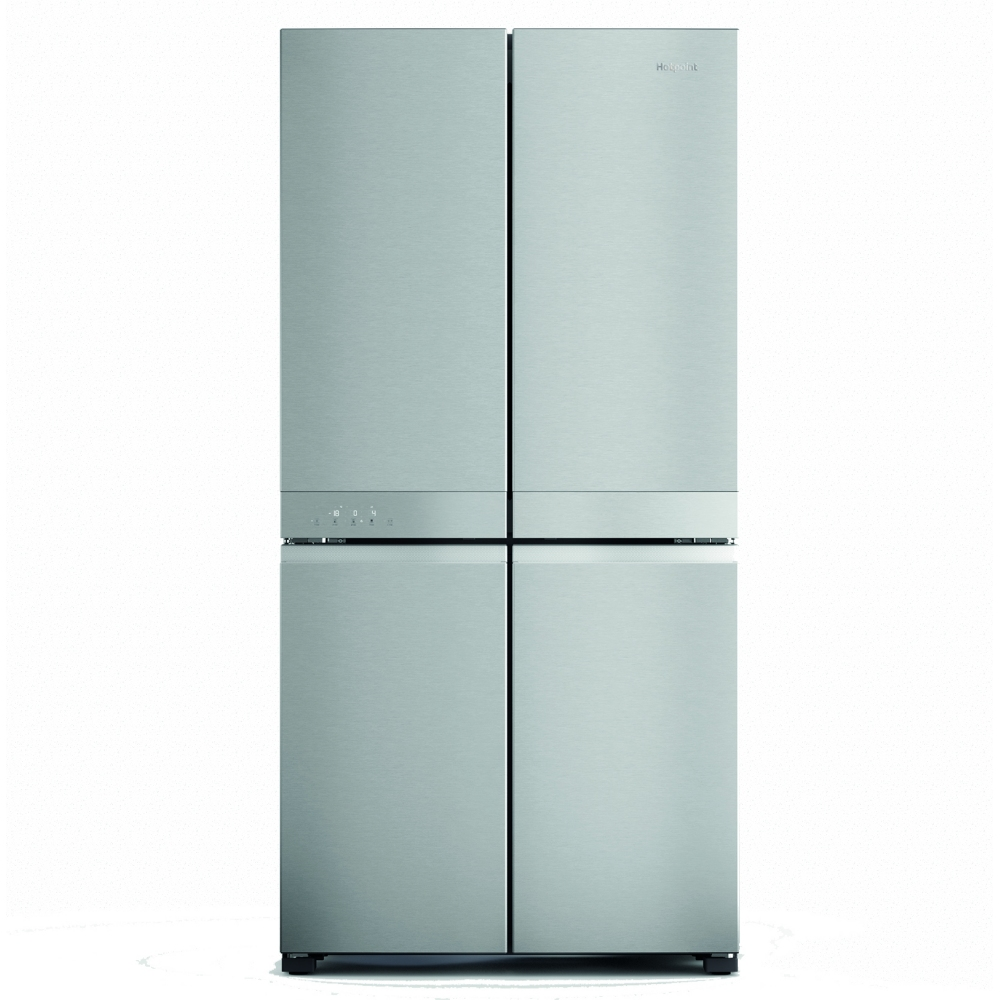 Hotpoint HQ9M2LUK American Fridge Freezer - Silver - A+ Rated