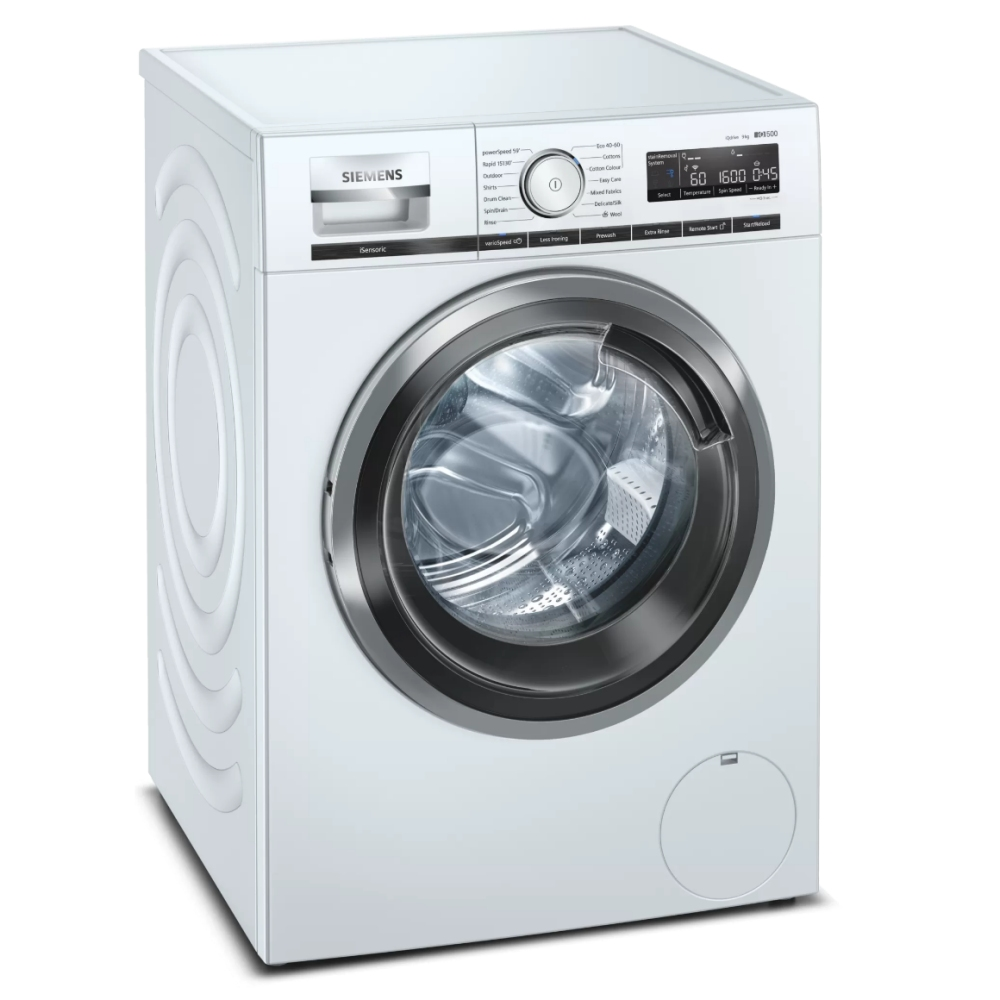 Siemens WM16XMH9GB 9kg IQ-500 Washing Machine 1600rpm - WHITE