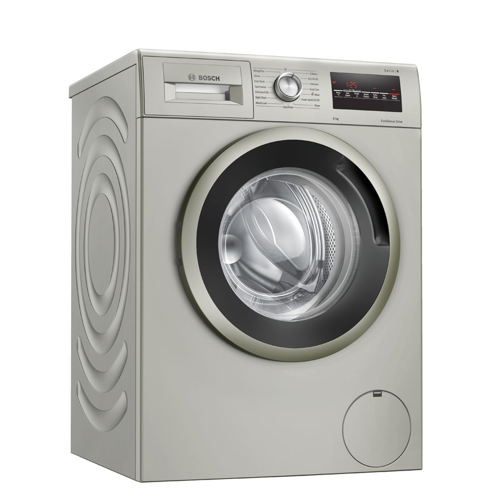 Bosch WAN282X1GB 8kg Serie 4 Washing Machine 1400rpm - SILVER