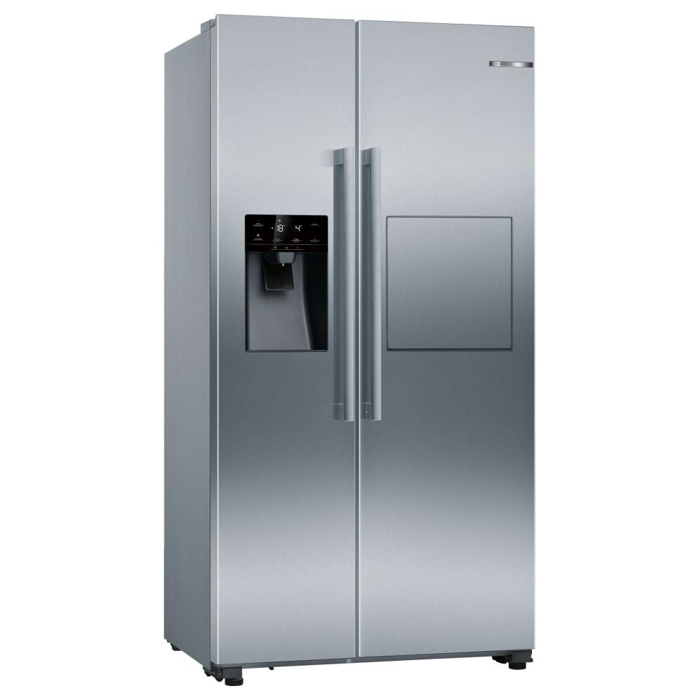 Bosch KAG93AIEPG American Style Fridge Freezer Ice Water & Homebar - STAINLESS STEEL