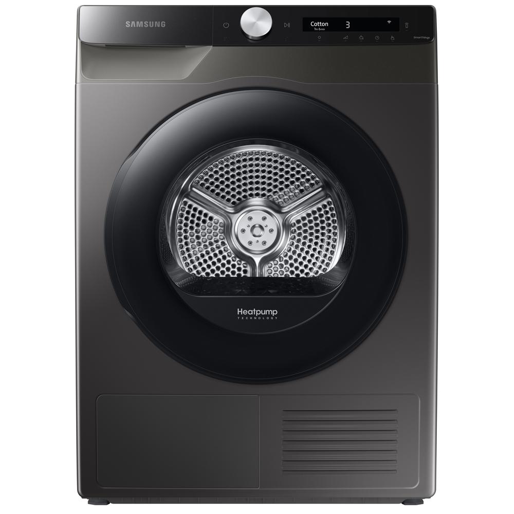 Samsung DV80T5220AX 8kg Heat Pump Condenser DV5000T Tumble Dryer - GRAPHITE