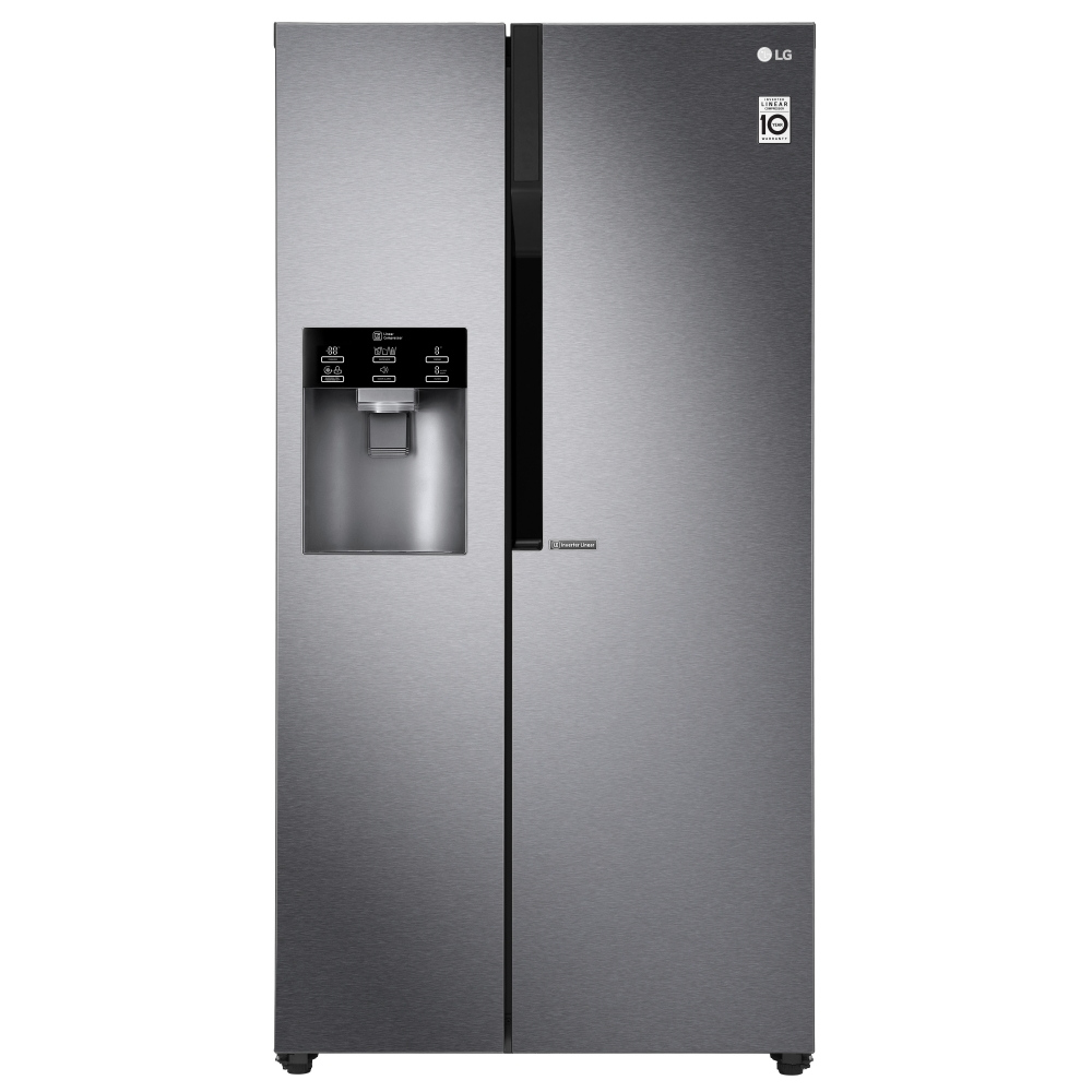 LG GSL450IVCE American Style Fridge Freezer Ice & Water - GRAPHITE