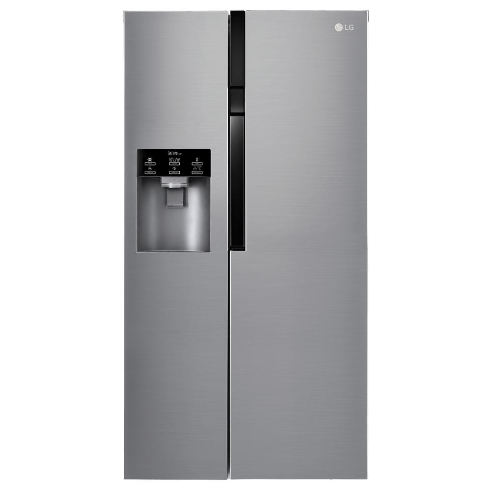 LG GSL561PZUZ American Fridge Freezer - Stainless Steel
