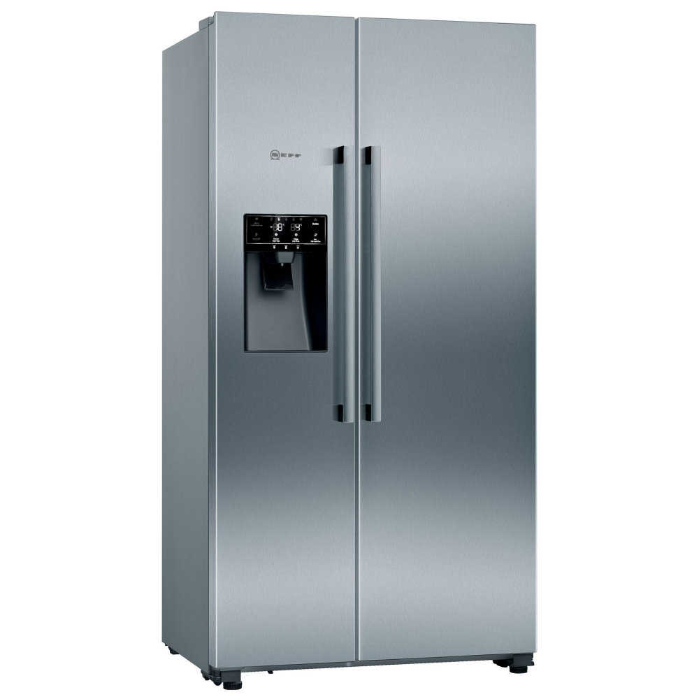 Neff KA3923IE0G American Fridge Freezer With Ice And Water - STAINLESS STEEL