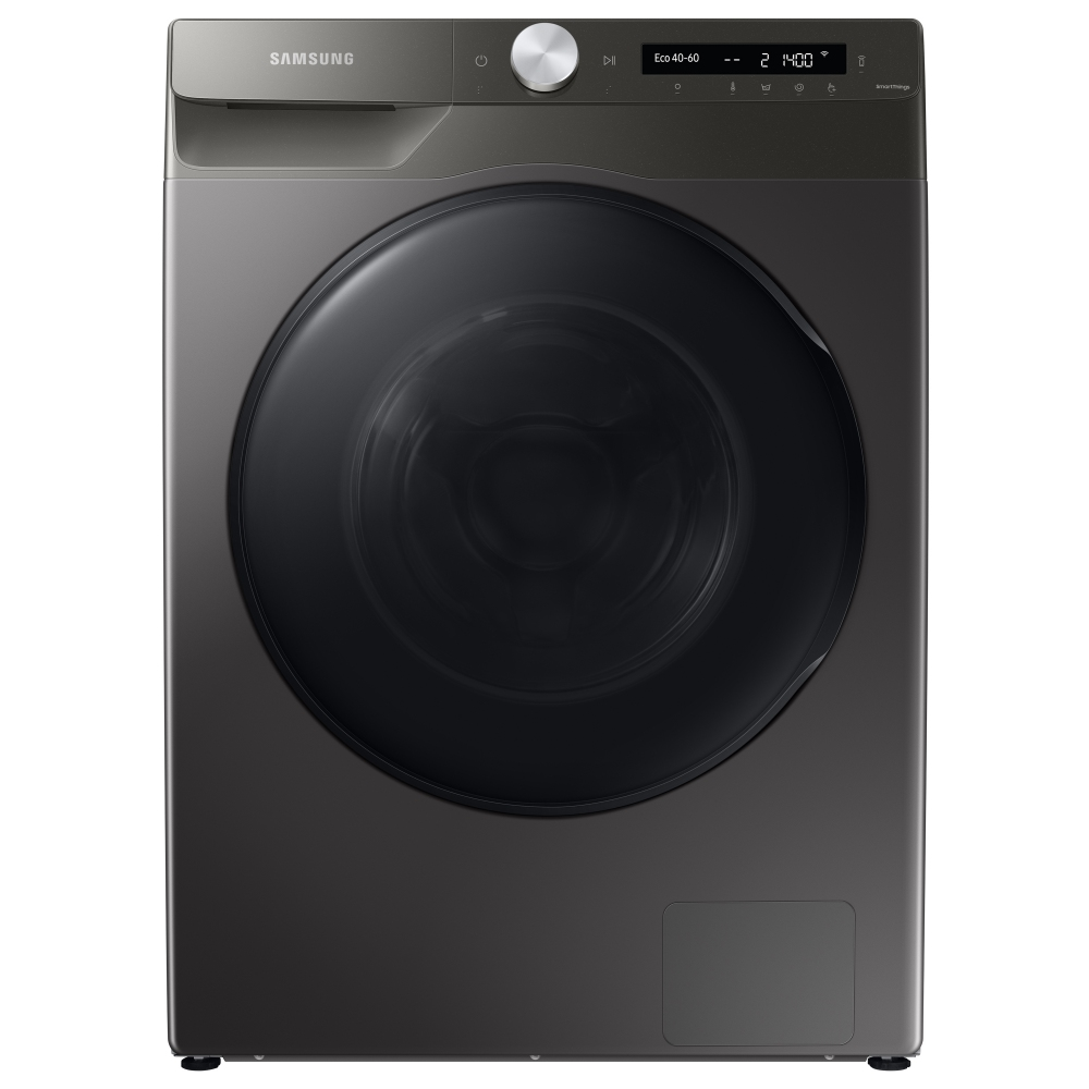 Samsung WD80T534DBN/S1 ecobubble 1400rpm Washer Dryer 8kg/5kg Load Wi-Fi Class A Inox