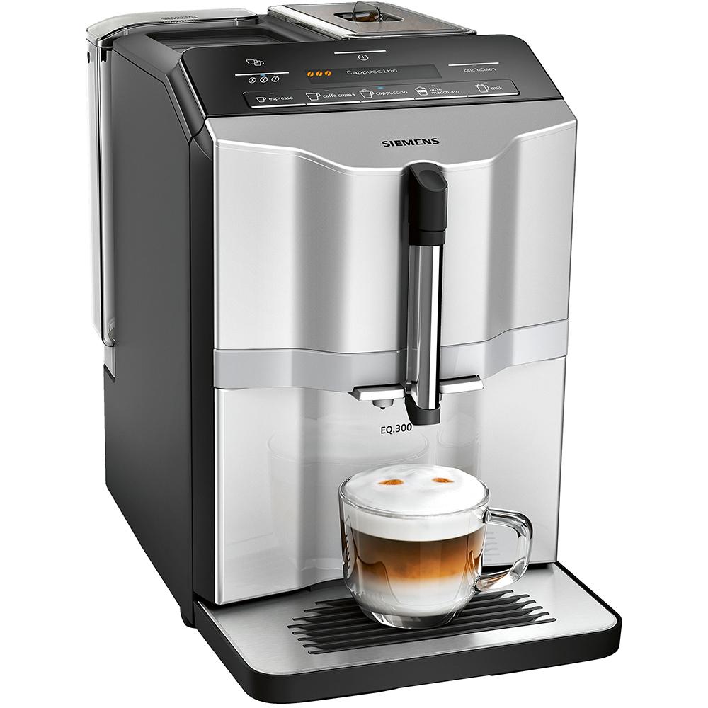 Siemens TI353201GB EQ.300+ Fully Automatic Freestanding Coffee Machine - SILVER