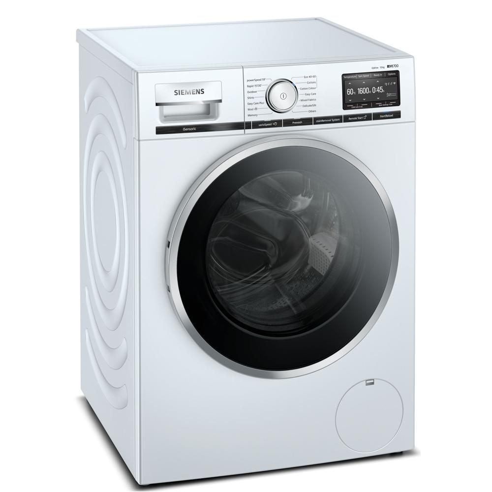 Siemens WM16XGH4GB 10kg IQ-700 Washing Machine 1600rpm - WHITE
