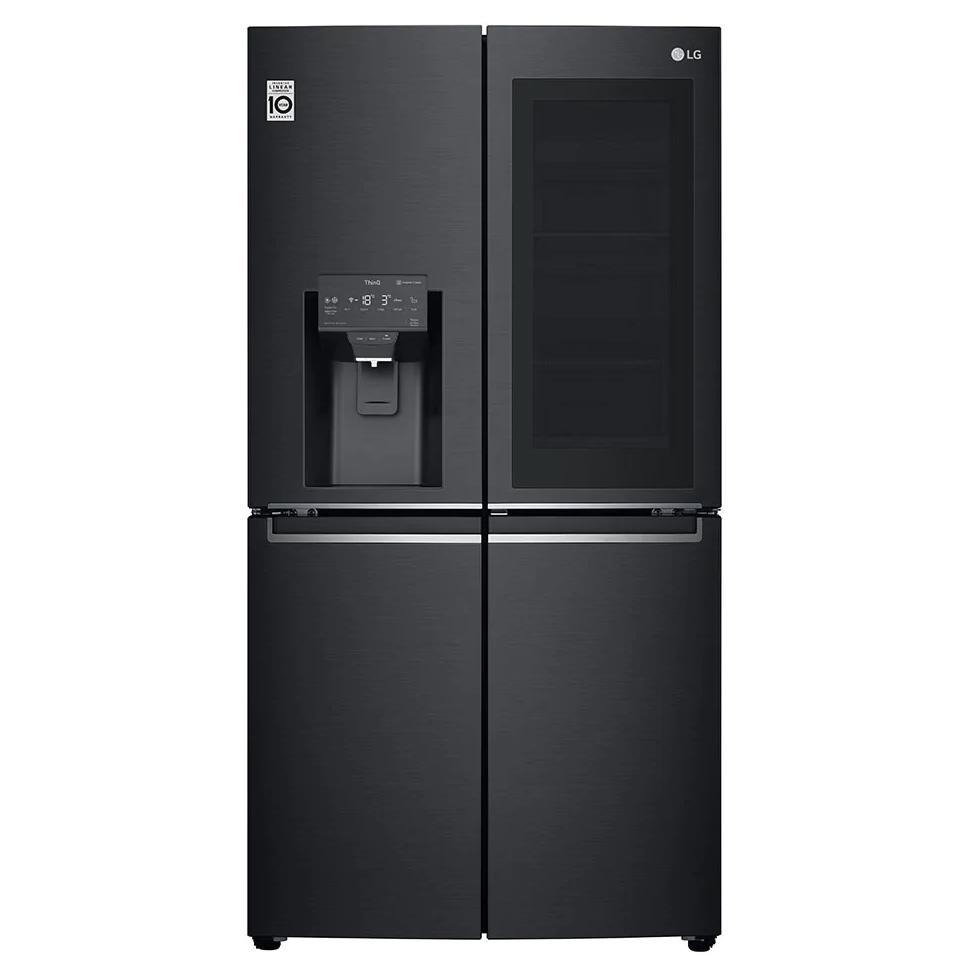 LG InstaView GMX945MC9F American-Style Smart Fridge Freezer - Black