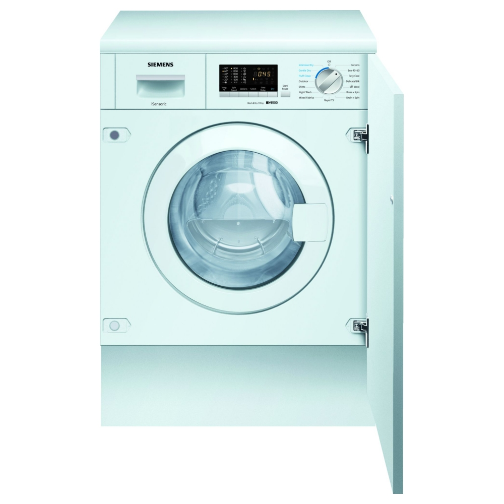 Siemens WK14D322GB 7kg IQ-300 Fully Integrated Washer Dryer