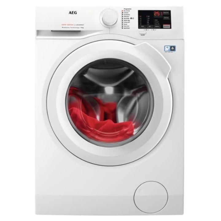 AEG L6FBJ841P 8kg Washing Machine 1400rpm - WHITE