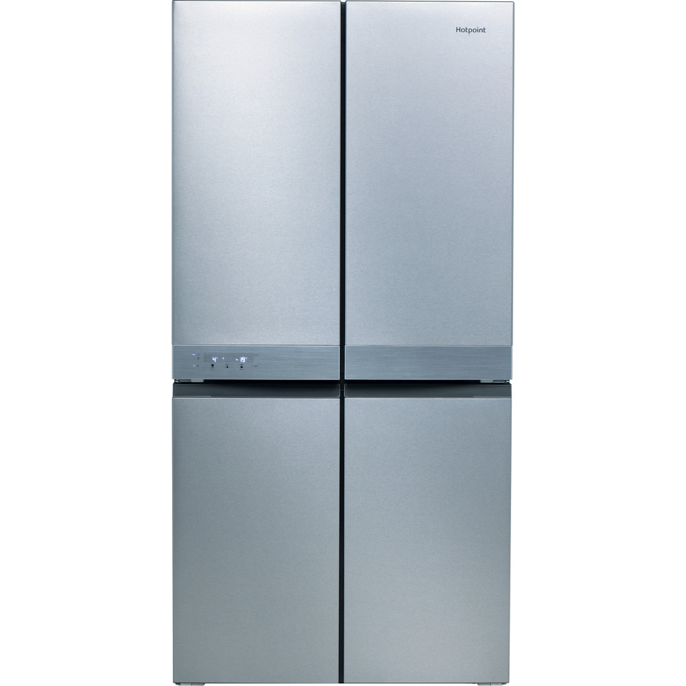 Hotpoint HQ9B1L1 American Fridge Freezer - Stainless Steel Effect - A+ Rated