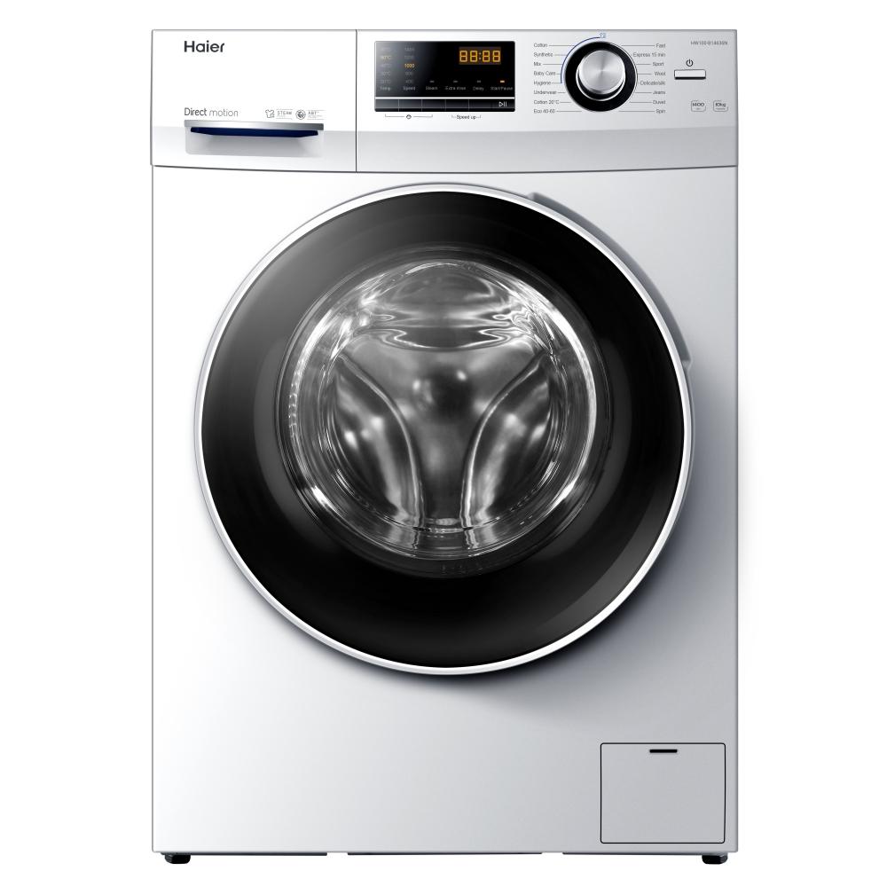 Haier HW100-B14636N 10kg Freestanding Washing Machine 1400rpm - WHITE
