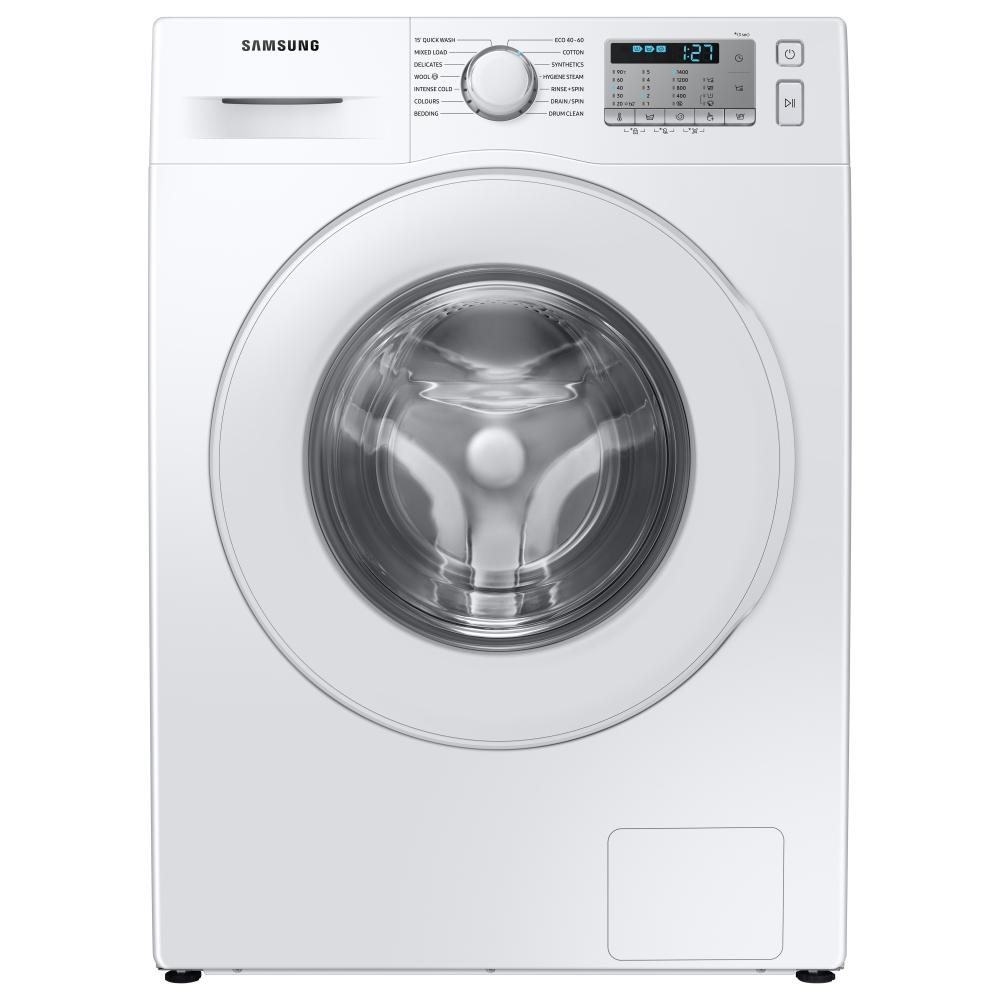 Samsung WW80TA046TH 8kg EcoBubble Washing Machine 1400rpm - WHITE